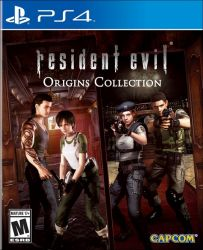 PS4. RESIDENT EVIL ORIGINS COLLECTION. NOVO.