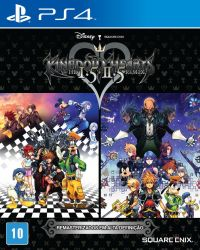 PS4. KINGDOM HEARTS I,5 + II,5. NOVO.
