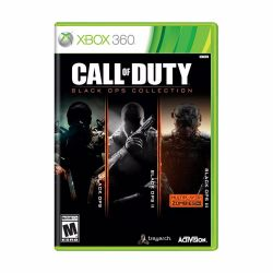 XBOX 360. CALL OF DUTY BLACK OPS 1 + 2 +3. COLLECTION. 3 JOGOS. NOVO.
