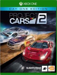 XBOX ONE. PROJECT CARS 2. EM PORTUGUÊS. NOVO.