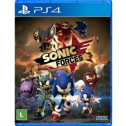 PS4. SONIC FORCES. NOVO.
