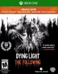 XBOX ONE. DYING LIGHT. THE FOLLOWING. ENHANCED EDITION. 100% EM PORTUGUÊS. EXTRAS. DLC. NOVO.