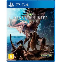 PS4.  MONSTER HUNTER WORLD. EM PORTUGUÊS. NOVO.