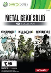 XBOX 360. METAL GEAR SOLID COLLECTION. 3 JOGOS. NOVO.