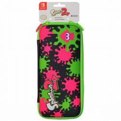 SWITCH. CASE SPLATOON 2 HARD POUCH. ORIGINAL NINTENDO. NOVO.