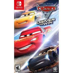 SWITCH. CARS 3. DRIVEN TO WIN. NOVO.
