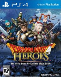 PS4. DRAGON QUEST HEROES. NOVO.