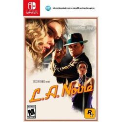 SWITCH. L.A. NOIRE.  CARTÃO MICRO SD REQUERIDO. 14GB. NOVO.