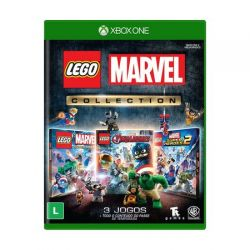 XBOX ONE. LEGO MARVEL COLLECTION. LEGO SUPER HEROES 1 E 2. LEGO VINGADORES. EM PORTUGUÊS. NOVO.