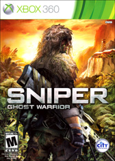 XBOX 360. SNIPER GHOST WARRIOR. NOVO.