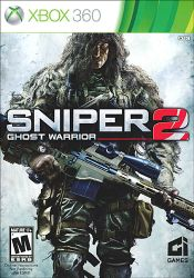 XBOX 360. SNIPER 2 GHOST WARRIOR. NOVO.