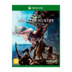 XBOX ONE. MONSTER HUNTER WORLD. NOVO.