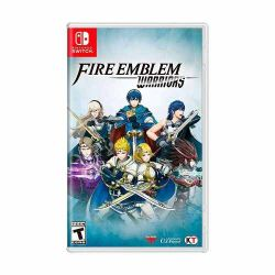 SWITCH. FIRE EMBLEM WARRIORS. NOVO.