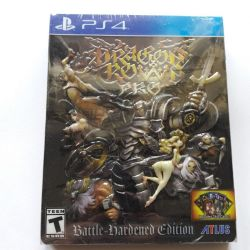 PS4. DRAGONS CROWN PRO. BATTLE HARDENED EDITION. STEELBOOK. NOVO.