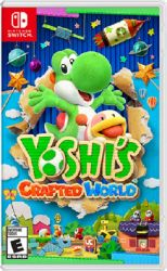 SWITCH. YOSHI`S CRAFTED WORLD. NOVO
