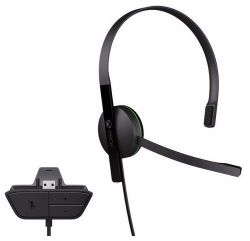 XBOX ONE. HEADSET PARA CHAT. FONE. BATE PAPO. PLÁSTICO BOLHA. NOVO.