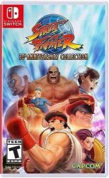 SWITCH. STREET FIGHTER 30TH ANNIVERSARY COLLECTION. NOVO.