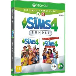 XBOX ONE. THE SIMS 4 + GATOS E CAES. BUNDLE. NOVO.