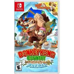 SWITCH. DONKEY KONG COUNTRY: TROPICAL FREEZE. NOVO.