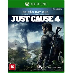 XBOX ONE. JUST CAUSE 4. 100% EM PORTUGUÊS.  DAY ONE. NOVO.