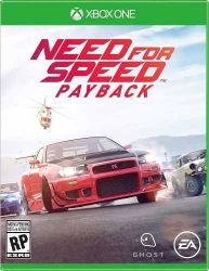 XBOX ONE.  NEED FOR SPEED PAYBACK. NOVO.