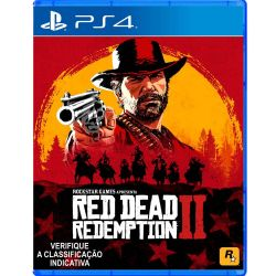 PS4. RED DEAD REDEMPTION II. 2. EM PORTUGUÊS. NOVO.