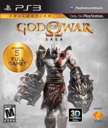 PS3. GOD OF WAR SAGA. 5 GAMES. GOW 1,2,3 + ORIGINS 1+2.  NOVO.