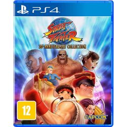 PS4. STREET FIGHTER  30TH ANNIVERSARY COLLECTION. NOVO.
