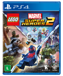 PS4. LEGO MARVEL SUPER HEROES 2. 100% EM PORTUGUÊS. NOVO.