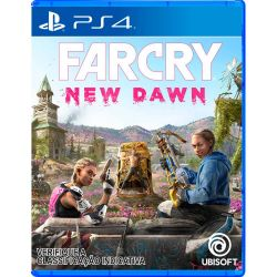 PS4. FAR CRY NEW DAWN. 100% EM PORTUGUÊS.  NOVO.