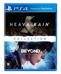 PS4. HEAVY RAIN + BEYOND TWO SOULS. 100% EM PORTUGUÊS. COLLECTION. NOVO.