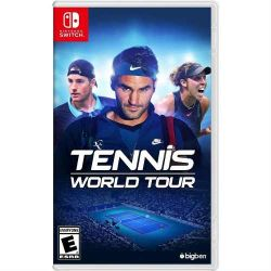 SWITCH. TENNIS WORLD TOUR. NOVO.