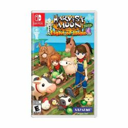 SWITCH. HARVEST MOON LIGHT OF HOPE SPECIAL EDITION. NOVO.