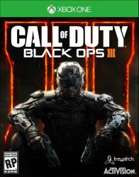 XBOX ONE. CALL OF DUTY BLACK OPS III. 3.   SOMENTE ONLINE. REQUER INTERNET. NOVO.