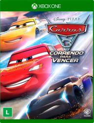 XBOX ONE. CARS 3. CARROS. CORRENDO PARA VENCER. NOVO.