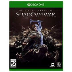 XBOX ONE. SOMBRAS DA GUERRA. SHADOW OF WAR. 100% EM PORTUGUÊS. NOVO.