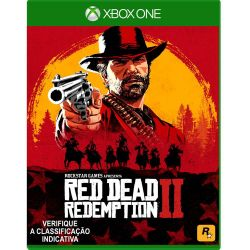 XBOX ONE. RED DEAD REDEMPTION II. 2. EM PORTUGUÊS. NOVO.