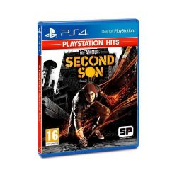 PS4. INFAMOUS SECOND SON. 100% EM PORTUGUÊS. DUBLADO/LEGENDADO. NOVO.