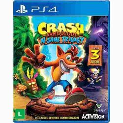 PS4. CRASH BANDICOOT N-SANE TRILOGY. 3 JOGOS. NOVO.