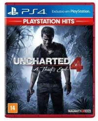 PS4. UNCHARTED 4 . A THIEFS END. 100% EM PORTUGUÊS. NOVO.