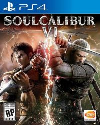 PS4. SOUL CALIBUR VI.  6.  NOVO.