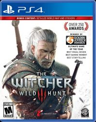 PS4. THE WITCHER 3 COM MAPA. WILD HUNT. 100% EM PORTUGUÊS. NOVO.