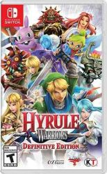 SWITCH. HYRULE WARRIORS. DEFINITIVE EDITION. NOVO.