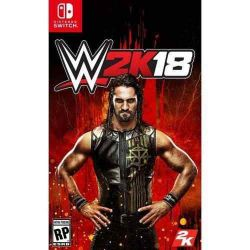 SWITCH. WWE 2K18. NOVO.
