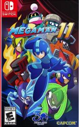 SWITCH. MEGAMAN 11.  MEGA MAN. NOVO.