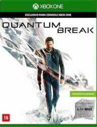 XBOX ONE. QUANTUM BREAK. 100% EM PORTUGUÊS + DLC ALAN WAKE. NOVO.