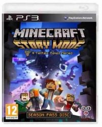 PS3. MINECRAFT STORY MODE. NOVO.