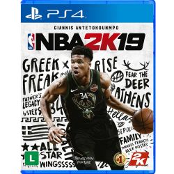 PS4. NBA 2K19. NOVO.