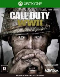 XBOX ONE. CALL OF DUTY WORLD WAR II. WW 2. 100% EM PORTUGUÊS. NOVO.