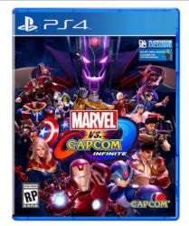 PS4. MARVEL VS CAPCOM INFINITE . EM PORTUGUÊS. NOVO.